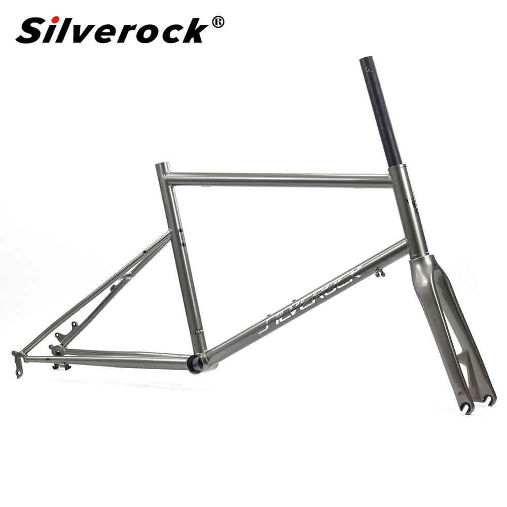Silverock Chrome Frame Carbon Fork 451 406 20
