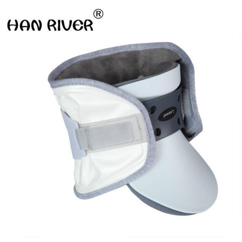 HANRIVER 2018 New electric pneumatic cervical traction apparatus home stretch head neck cervical vertebral disease orthotics hanriver cervical traction apparatus home stretch the neck fixed head neck collar correction neck inflatable lumbar spine