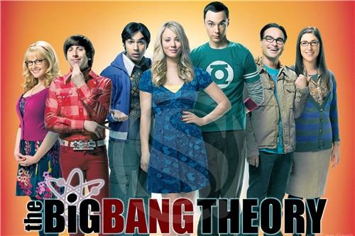 P#220 Custom big Bang Theory #u Home Decor modern For Bedroom Wall Poster Size 27x40cm Wall Sticker W@220