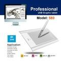 """Ee.uu. reino unido stock huion 580 4 """"profesional Digital Pen Tablet Digital Tablet Tableta de Dibujo de Gráficos de 2048 Niveles para Windows Mac OS"""