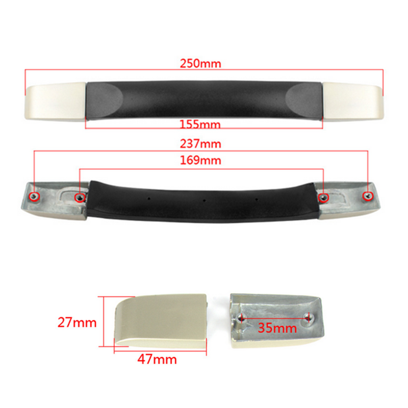 Top Quality Suitcase Replace Handle Spare Strap Handle Grip Use For Luggage Case Boxes Multifuncational Tools Mayitr