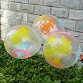 50pcs Transparent dinosaur balloon 12 inch children's toy balloon birthday party decorated Christmas balloon