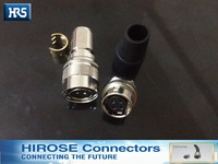 Hirose Connector HR10A 10P 4P HE10A 10R 4S A Bigger Size Plug Socket Hirose 4 Needle