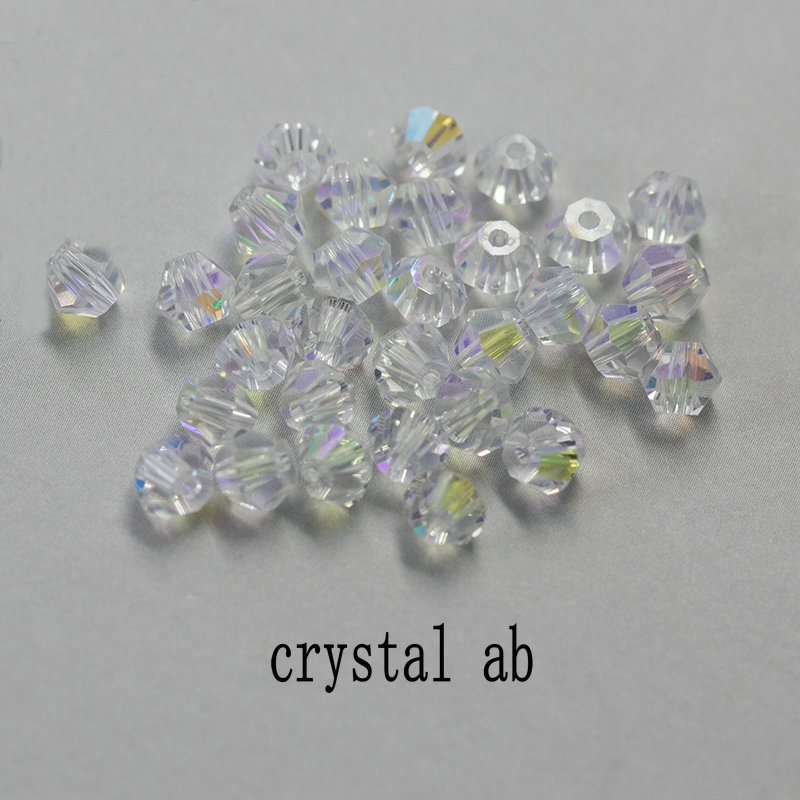 Visoka kvaliteta 6mm Bicone perle Crystal Nakit perle čari modne - Modni nakit - Foto 4