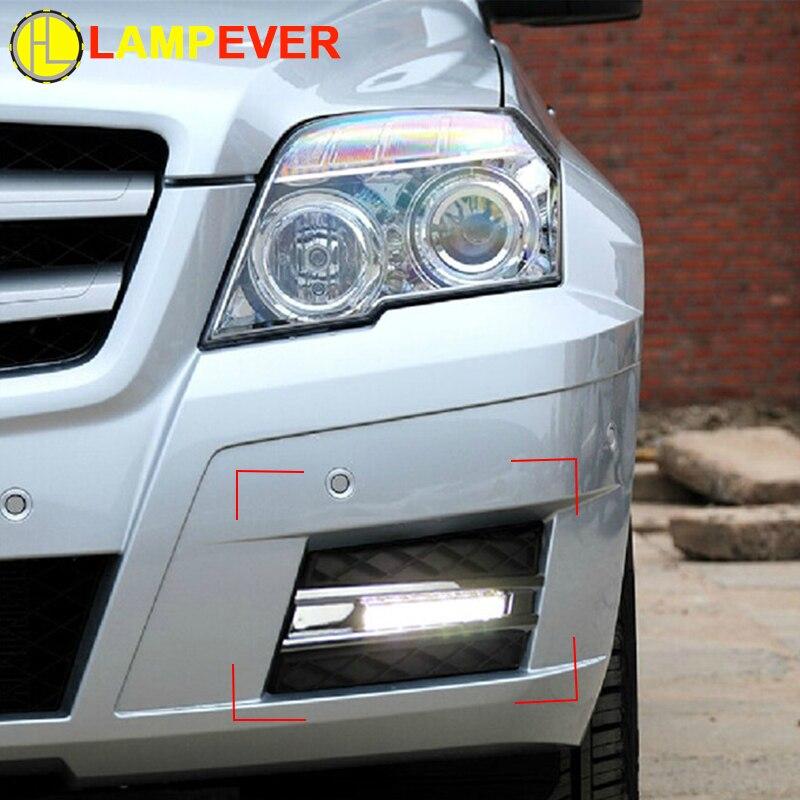 CAR led daytime running lights for Mercedes Benz GLK CLASS ...
