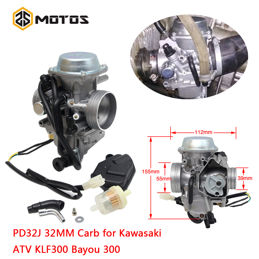 ZS MOTOS CVK24 24.5mm moto carburateur électronique starter GY6 100 125 150 cc scooter ATV remplacer