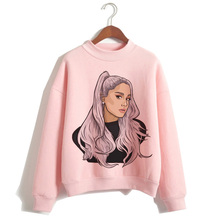 Ariana Grande Sweatshirt clothes 7 Rings women 2019 Hoodies