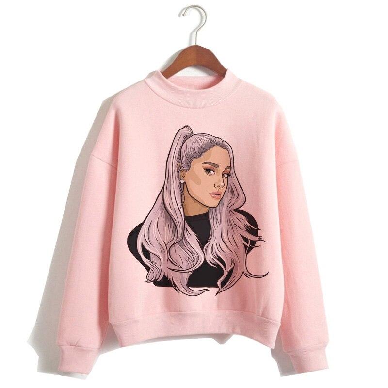 Ariana Grande sweat vêtements 7 anneaux femmes 2019 Hoodies oversize streetwear à capuche femme imprimé capuche Highstreet