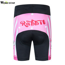 Weimostar Kids Cycling Padded Shorts Children Youth Bicycle Bike Short GEL Padded Tights Short Pants High Quality Shorts S-XXL(China)