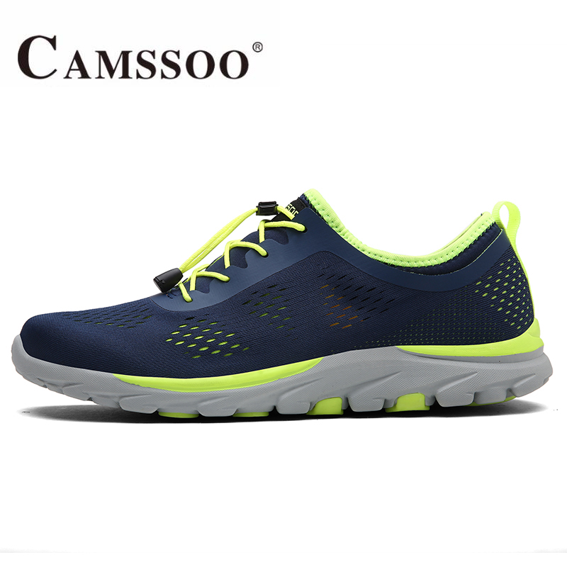 CAMSSOO Mens Summer Sports Running Sneakers Shoes For Men Outdoor Sport Running Jogging Shoes Man Zapatillas Deporte Hombre купить