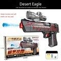 Orbeez para água nerf arma desert eagle arma bala água poderosa Arma Bala Mole Arma de Água Brinquedos Bala Cristal Desert Eagle W080
