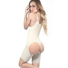 Women Plus size Slimming Underwear Open Butt Lifter Bodysuits Slim Shapewear Full Body Shaper Slimming Faja Colombiana Mujer 3XL