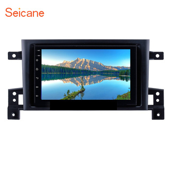 Seicane 2DIN Android 8.1 7 inch Head Unit For SUZUKI GRAND VITARA 2005 2006 2007-2015 Radio Audio Car GPS Multimedia Player image