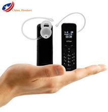 (24 hours shipping) GT Star Brand Mini bluetooth handset phone BM50 0.66″mini mobile phone bluetooth earphone dialer Phone