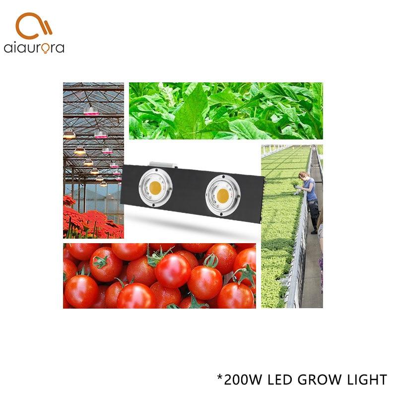 Купить с кэшбэком CREE CXB3590 CXB3070 CXA3070 200W 36000LM 3500K COB LED Grow Light Full Spectrum Growing Lamp Indoor Plant Growth Panel Lighting