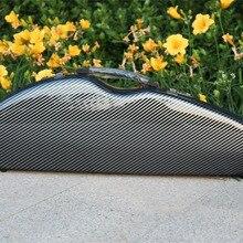 Высококачественная скрипка 4/4 полный размер композитный карбоновый чехол Лук ременной захват