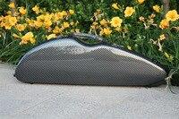 High Quality Violin 4/4 Full Size Composite Carbon Fiber Case Bow Holders Straps
