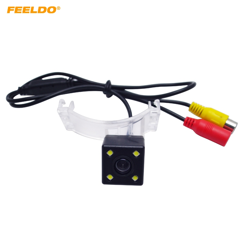 FEELDO 1Pc Car HD CCD Rear View Camera For <font><b>Mazda</b></font> 5 M5 <font><b>2011</b></font> 2012/<font><b>CX</b></font>-<font><b>9</b></font> Parking Assist Backup Camera #FD-3951 image