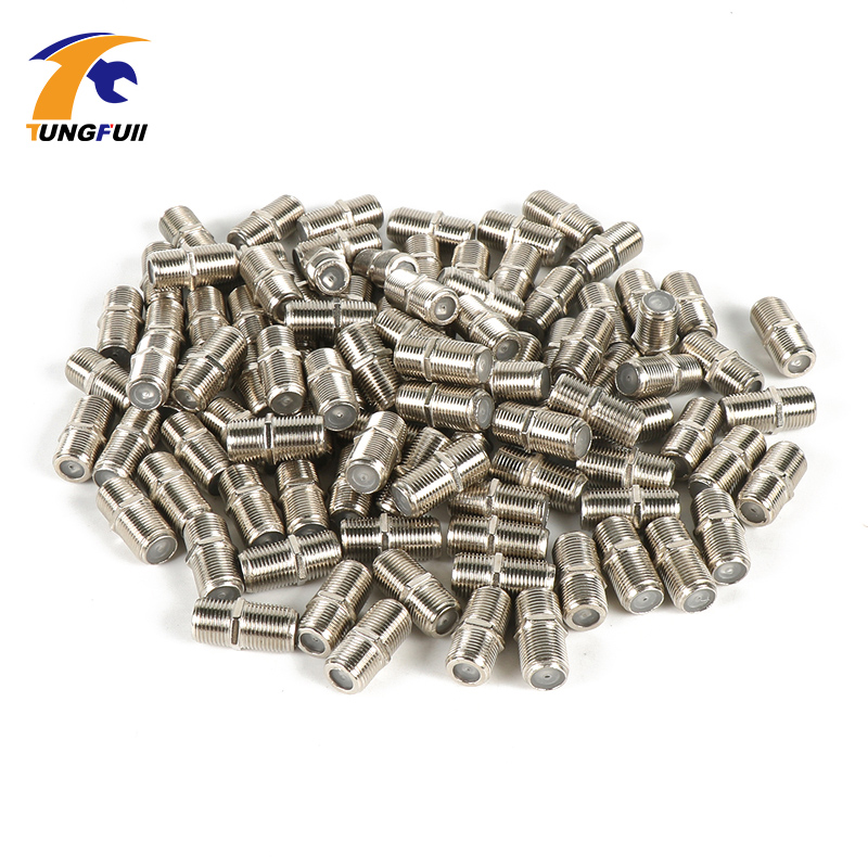 High quality 20 Pack F Type Coupler Adapter Connector Female F F Jack RG6 Coax C
