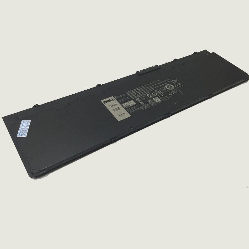 Original 7.4V/52wh laptop Battery W57CV VFV59 FOR Dell Latitude E7240 original new vfv59 laptop battery for dell latitude e7240 e7250 w57cv 0w57cv wd52h gvd76 vfv59 7 4v 52wh free 2 years warranty