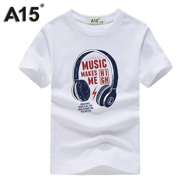393325a9a7d8b Garçon t shirt 2019 été hauts filles adolescentes à manches courtes coton t-shirts  t