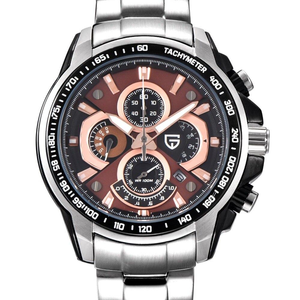 Relogio Masculino 2017 Sport Quartz Watch Men Dive 30m Multifunction Military Watches Men Luxury Brand PAGANI DESIGN Clock Men