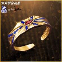[גורל אפס] גילגמש ארצ ר טבעת 925 סטרלינג כסף Enuma אליש פעולה איור גורל גרנד סדר FGO FZ גורל אפס איור מתנה
