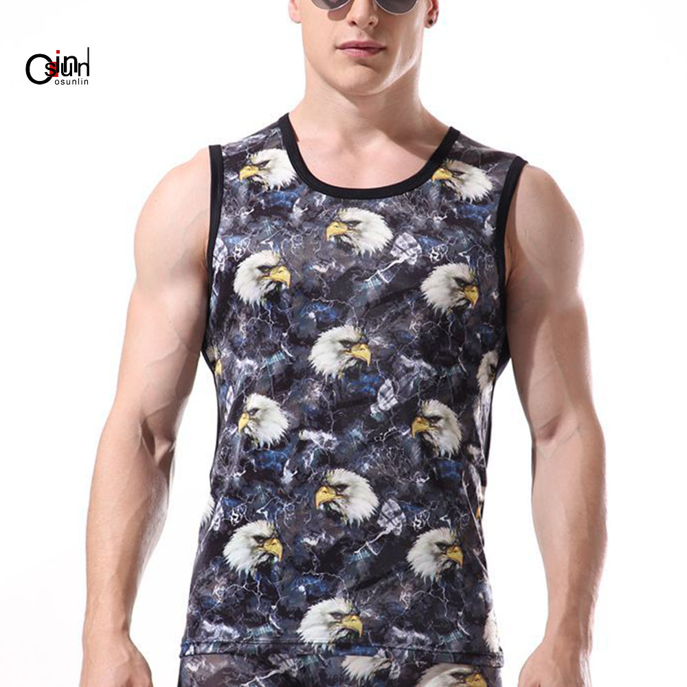 Mens Gym Muscle Tank Sleeveless Promote The Production Of Body Fluid And Saliva Useful Osunlin Mens 3d Printed Cool Breathable Tank Top Funny Graphics Soft Lightweight Tees L-xxl Men's Clothing