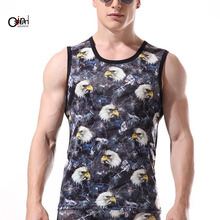 Osunlin Mens 3D Printed Cool Breathable Tank Top Funny Graphics Soft Lightweight Tees L-XXL , Mens Gym Muscle Tank Sleeveless