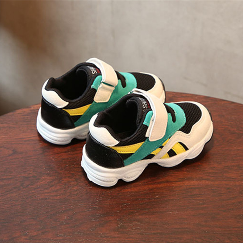 DIMI 2018 New Spring Children Shoes Boys Sport Shoes Mesh Breathable Kids Sneakers For Boy Baby Shoes Non-slip