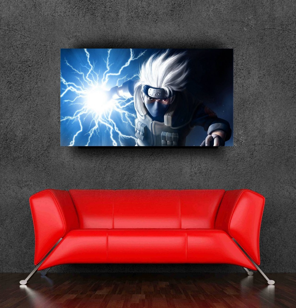 Big size wall sticker japanese cartoon naruto stickers posters walls decor 90x50cm,36x20inch - Bang&Wil Canvas and Poster Store store