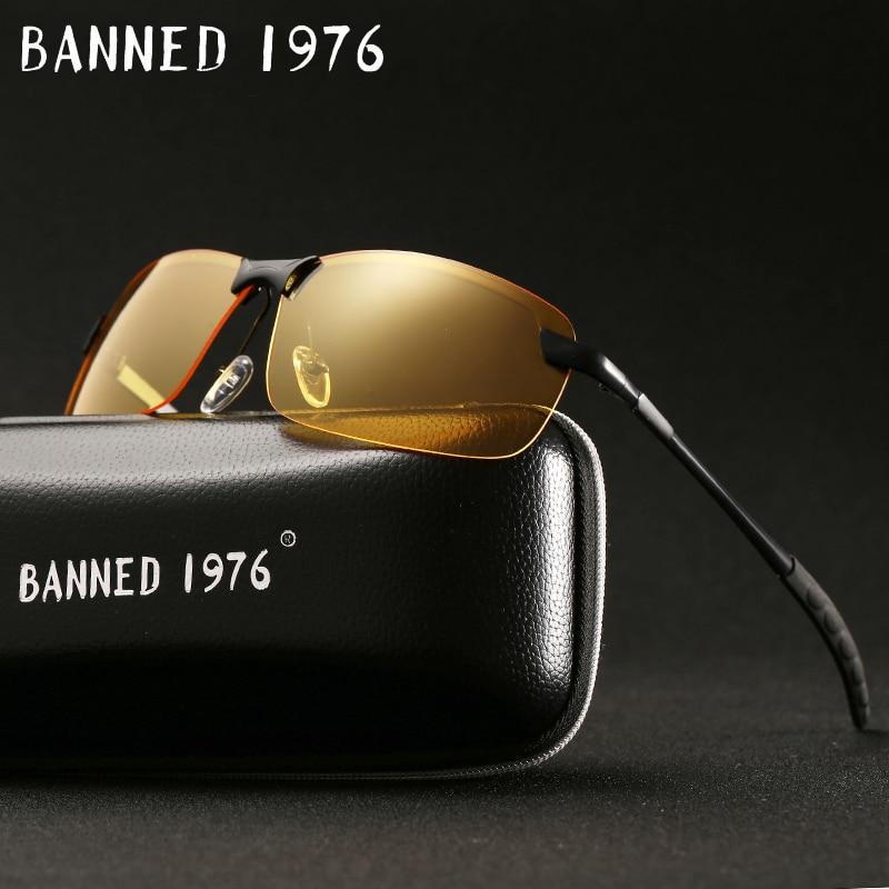 2018 anti glare Fashion Evening night vision Men Sunglasses Brand Designer drive Goggles women glasses oculos 3043