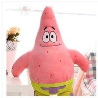 Stuffed Plush 34cm Patrick Star In SpongeBob Toy Soft Doll Throw Pillow Gift W3469