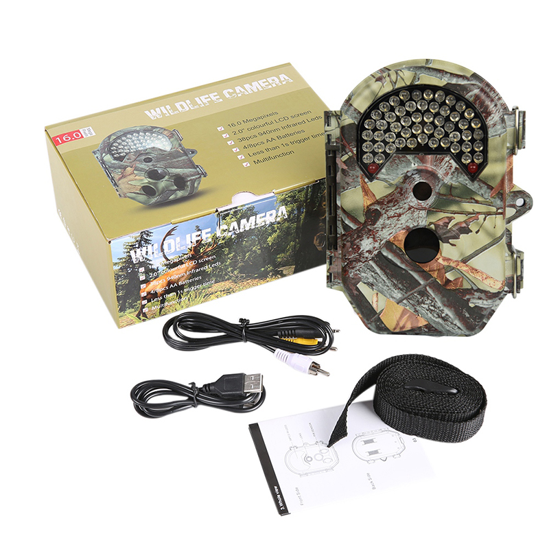 Outdoor 940nm IR LED Portable Wildlife Hunting Camera 12MP HD Digital Infrared Scouting Trail Camera Night Vision Video Recorder наушники sven seb amethyst sv 012281