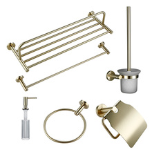 Smesiteli Morden Bath Hardware Sets 304 Stainless Steel Brus