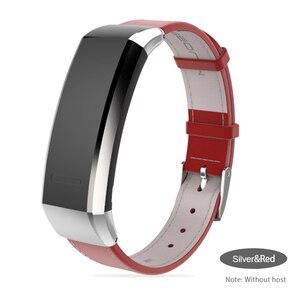 Image 5 - Mijobs pasek do Huawei Band 2 Pro B29 B19 zespół 2 akcesoria skórzany nadgarstek inteligentna bransoletka wielofunkcyjny inteligentny zegarek opaska