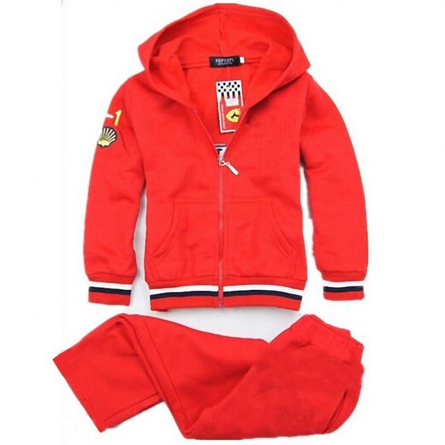 2PCS Car Print Boy Hoodies + Pants 100% cotton Clothing Sets for boys nova kids Spring Zipper for boys Fall children clothing