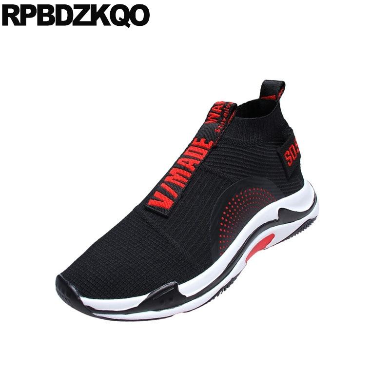 Haute Formateurs Confort Designer Printemps Chaussures Top Noir Mode De Décontracté Les Sneakers Piste Marque Glisser Sur Célèbre 2018 Européenne Pour Hommes Y7y6gbf