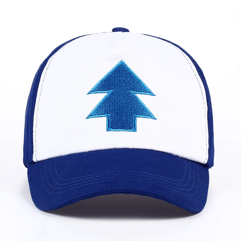 8b1a7b61959 2017 New Cotton tree embroidery Gravity Falls U.S Cartoon Mabel Dipper Pines  Cosplay Cool Baseball Caps Adjustable Sport Hat-in Baseball Caps from  Apparel ...