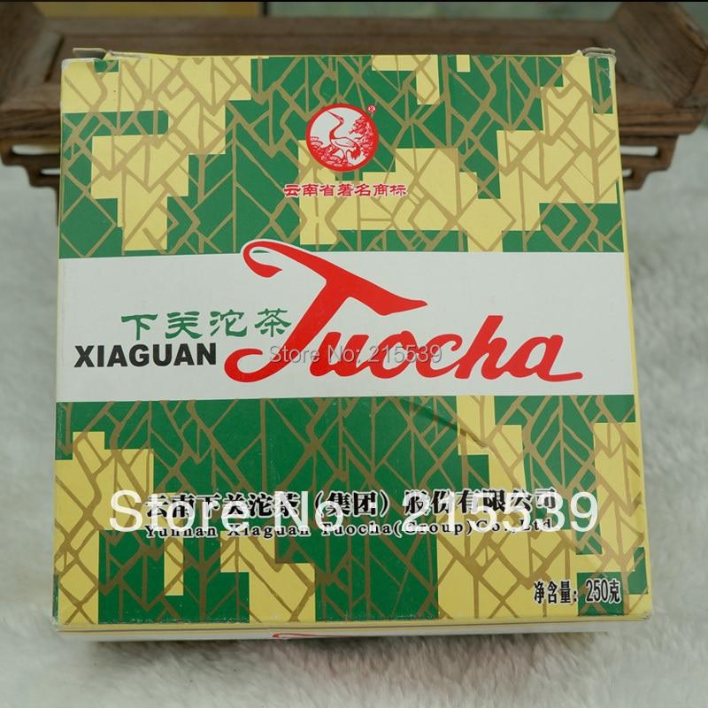 """[GRANDNESS] 2010 Xiaguan Tuocha """"""""Xiao Fa"""""""" Shu Ripe Pu Er Tuo in Box Puer Puerh Pu'er Tea Pu-erh tea erh 250g"""""""