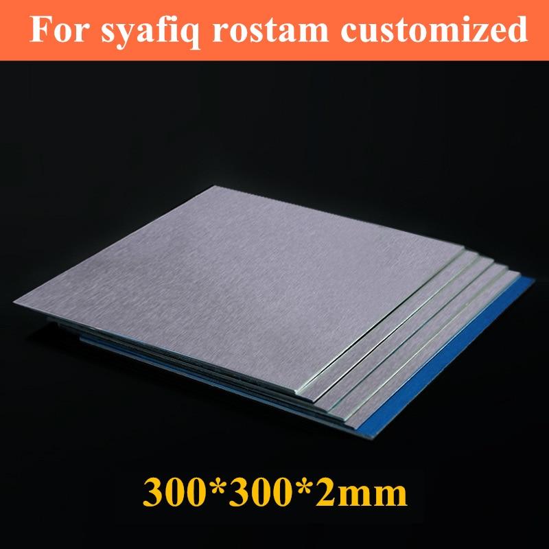 все цены на 300*300*2mm 5052# aluminum sheet block Brushed surface metal plate heatsink Heat conduction cooler онлайн