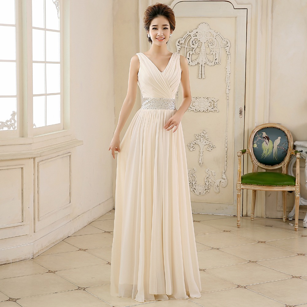 Bridesmaid Dresses Long Sexy Chiffon Bow Cheap Winter Wedding Party Dress Vestido De Madrinha De Casamento Longo