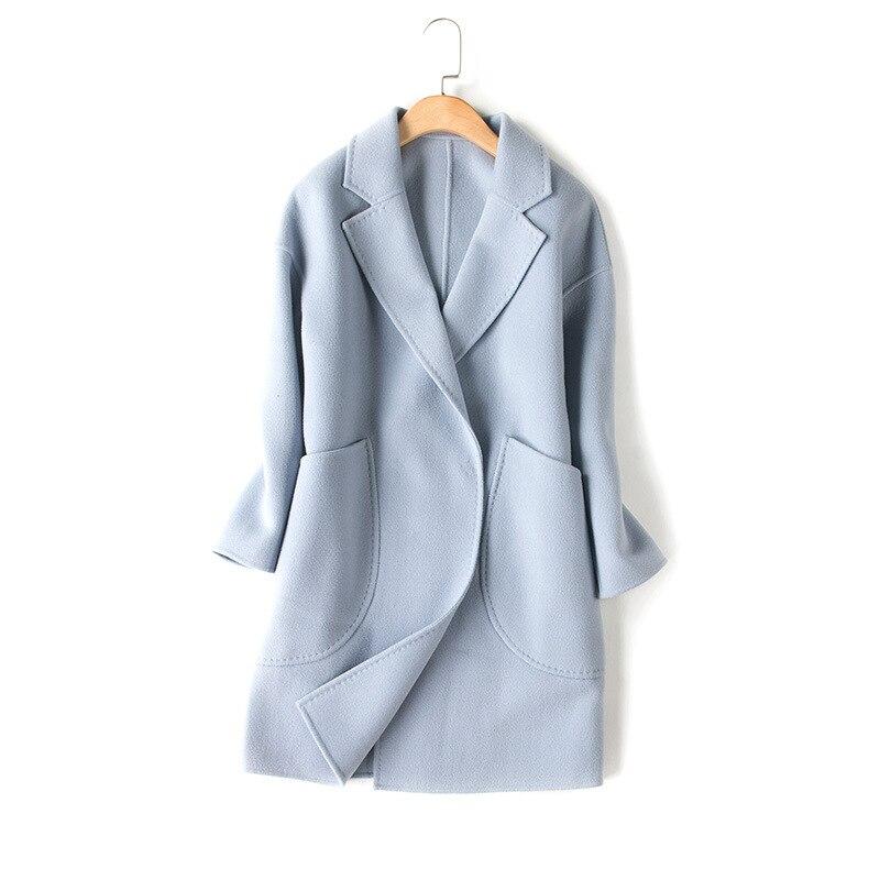 Purebliss 2017 Ol Grey Light Blue 100 Cashmere Wool Blend
