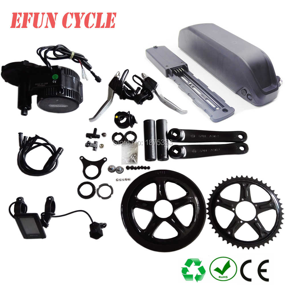 Free shipping MTB bike conversion kits Bafang BBSHD 48V 1000W mid drive/crank motor with 52V 16.5Ah shark down tube batteryFree shipping MTB bike conversion kits Bafang BBSHD 48V 1000W mid drive/crank motor with 52V 16.5Ah shark down tube battery