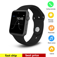 Smart Watch Phone DM09 LF07 Support 2G SIM Card Pedometer Smartwatch Fitness Tracker for IOS Android support sim card and hebrew