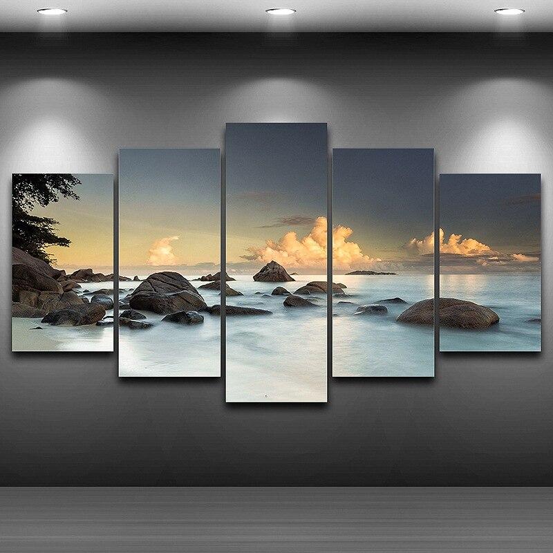 ᐃPintura de impresión artística sobre lienzo HD impreso Decoración ...