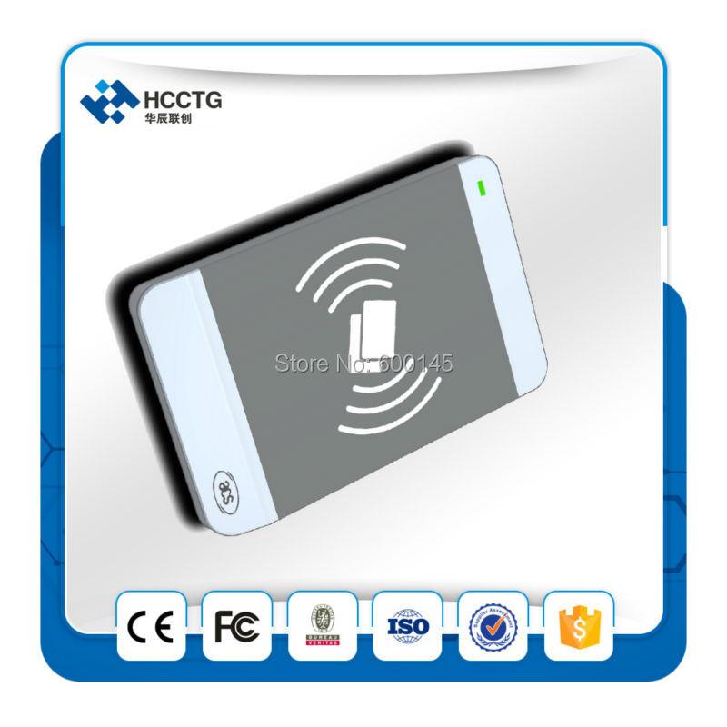 Iso 14443 USB 13.56 mhz Android USB NFC lecteur de carte à puce + 2 PCS M1 cartes + SDK gratuit pour le contrôle d'accès - ACR1256