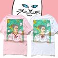 Tops tees ripndip senhor nermal camisetas das mulheres dos homens de alta qualidade 1:1 algodão o-neck t-shirt de manga curta moda dos desenhos animados cat ripndip