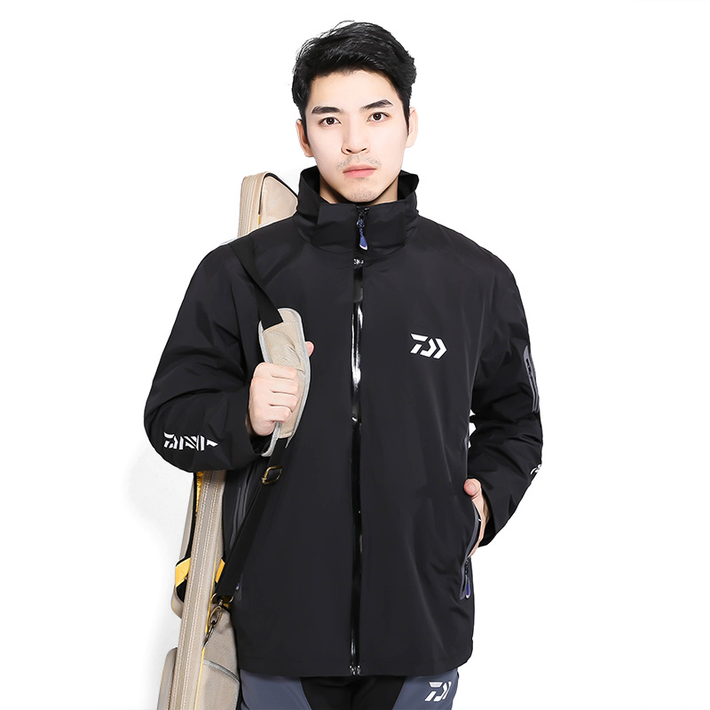 2017 NEW DAIWA Fishing Keep warm coat jacket parka waterproof Plus velvet Autumn And Winter outdoors DAWA DAIWAS Free shipping коляска прогулочная mr sandman traveler premium бирюзовый графит в принт бирюзовый sl08