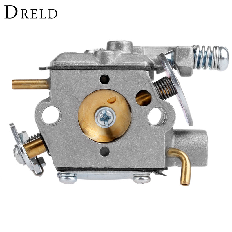 DRELD Replacement Chainsaw Carburetor Carb Tool Parts For Walbro WT 826 Carburetor Chainsaw Spare Parts Garden Tool Parts